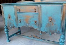 Decor is my passion / Painted Vintage Furniture and Décor by Poppy Cottage ~  from my Etsy shop.  / by Poppy Cottage