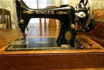 Vintage Sewing Machines & Accessories