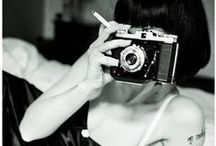 Camera / Vintage cameras, beautiful people and obscured faces... / by Zaftig StreetArtist