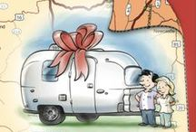 Airstream - Living / How to live in an RV or Airstream with your family! Tips, ideas and suggestions for the best outcome.