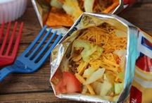Camp Dinner Ideas / Recipes and ideas for easy dinner creations when you are camping or RVing in an Airstream!