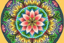 Colouring Pages - Mandalas