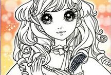 Colouring Pages -Whimsy