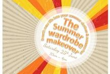 The Summer Wardrobe Makeover 2016 / Be inspired to create something new out of something old with our upcycle demonstration day on Saturday 25th June 2016! Re-vamp, re-style & re-fashion your old and tired clothes into a new and exciting summer wardrobe with trims, clever cutting and a little know-how!
