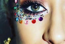 Glitter disco child