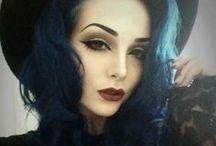 Hair - Blue / by Eden Isabella