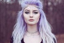 Hair - Purple / by Eden Isabella