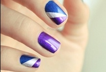 Nail art inspiration / Here are some beautiful designs I found. If you are inspired repin at your own boards :-)