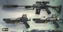 Weapons - Firearms & Ranged