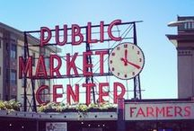 Seattle Sights / A few places everyone should see when visiting Seattle, WA. / by Hammer & Hand