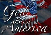 America the Beautiful / God Shed His Grace on Thee. / by Helen in Spring Hill, TN