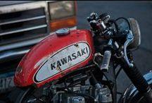 Custom bikes and riding gear