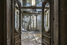 "Beautiful Abandonment / ""Time doesn't stop in abandoned buildings, it just moves differently."" - Anon."