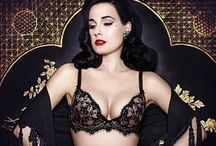 Dita Von Teese / Burlesque dancer, Fetish Fashion Model