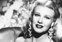 Ginger Rogers / #actress #dancer #hollywood #movie