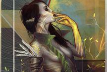 Fantasy art/Mythology