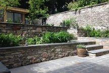 Townhouse Garden by Iron Butterfly Design / Townhouse garden in Bristol. The garden was created for a family including a dog.
