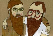 Beards. / There is nothing sexier than a man with a beard. Don't kid yourself. / by Shana Douglas