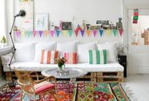 home decor / Home interiors, decor, and designs that are beautiful or pretty.  Pin whatever you think is cool for the house! ;))