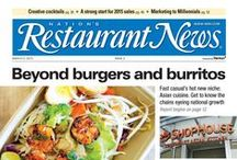 NRN in Print / Nation's Restaurant News (NRN) is the leading media brand in the foodservice industry. Click on the pins to check out sample digital editions of our print issues. / by Nation's Restaurant News
