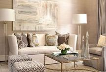 Living & Family Rooms / by Amy Vermillion Interiors