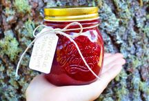 A Million Jams in Jars / Jams, jellies, sauces, salsa, baked goods / by Erin Hilligas (Gray)