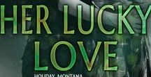 Her Lucky Love / The outsiders have secrets of their own and it's going to take all of the Coopers, especially Brayden's, help to save them. When trouble attacks, Allison will have to remember that she's also a woman who needs love, and Brayden might be the one to give that to her.  Warning: Contains one sexy mechanic with a lucky streak, a waitress who needs to give into her temptations, and a love so fierce it's bound to set the sheets on fire. Again.