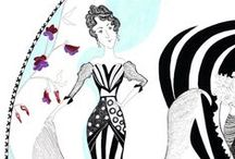 Peawit Prints & Cards / Our collection of elegantly stylised prints and greeting cards
