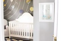 Nursery/Kid's Room Ideas / Nursery ideas, things to buy, little kids room ideas, cool ideas for kid's spaces / by Erin Hilligas (Gray)