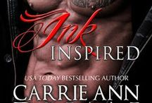 Ink Inspired / In Carrie Ann Ryan's Ink Inspired, the prequel to her upcoming Montgomery Ink series, Ice Princess Shea Little wants ink and a change. Shepard Montgomery not only wants to ink her, but get through that icy exterior.  Together, they'll heat up the streets of New Orleans…and each other.