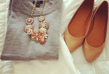 Dream Wardrobe / Clothes, shoes and jewelry I want.  Looks and styles I like / by Erin Hilligas (Gray)