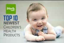 10 Newest ~ Children's Health / 10 Newest Children's Health Products on iHerb (http://www.iherb.com/Children-s-Health) ~ New Customers can use Rewards Code PNT999 to get $10 off of a $40 minimum purchase or $5 off first time orders of less than $40. / by iHerb Inc