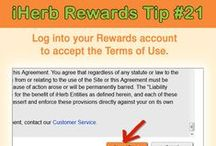 iHerb Rewards Tips and Info / Tips and other info regarding how to be part of the iHerb Rewards Program (http://rewards.iherb.com) / by iHerb Inc