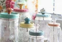 DIY - Jar Crafts & Projects / Different projects or crafts I want to make using mason jars...and different creative ways to use mason jars / by Erin Hilligas (Gray)