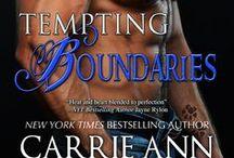 Tempting Boundaries / Montgomery Ink Book 2. Decker and Miranda's story. Coming in 2014