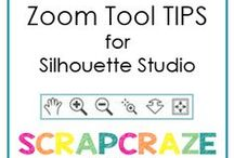 Silhouette Tips & Tricks / Tips and tricks to help with using the Silhouette Studio software for cameo, curio or portrait machines.