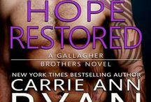 Hope Restored / Book 3 in the Gallagher Brothers Series Murphy and Tessa's Story http://carrieannryan.com/books/hope-restored/