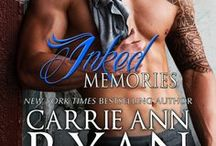 Inked Memories / The Montgomery Ink series by NYT Bestselling Author Carrie Ann Ryan continues when the final Denver Montgomery sibling refuses to fall for his brother's former flame—the company's new plumber.  http://carrieannryan.com/books/inked-memories/