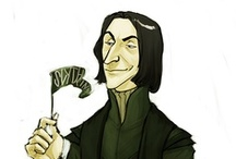 Severus Snape / the bravest man on earth and the guy you can only love, my favourite character ever! :D