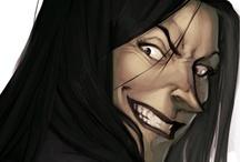 Bellatrix Lestrange / She's so mad, I love her <3