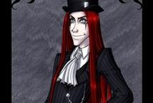 Rodolphus Lestrange / Rodolphus is Bellatrix's husband