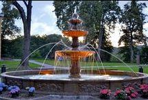 Fontanny parkowe / Fontanny parkowe posiadają nieco większe rozmiary i zdecydowanie wyraźniejsze zdobienia.