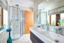 Gorgeous Bathrooms / Bathrooms created by Conroy Brook for their new build homes throughout Yorkshire.