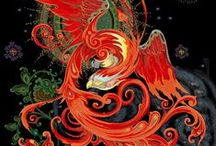 Firebird / A retelling of the classic russian tale of the Firebird, where 16 year old Tatiana, daughter of death, needs to find the legendary firebird to free her country and her sisters. / by Laura Pohl