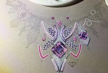 jewellery design, paint ups