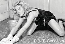 Madonna for Dolce & Gabbana, photos by Steven Klein