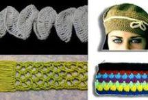 Accesorios a crochet / Teje estos hermosos accesorios en tejido crochet.