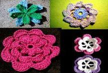 Colección de Flores / Te mostramos la colección de flores de Moda a Crochet