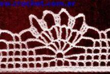 Colección de Puntillas / Te mostramos la colección de puntillas de Moda a Crochet