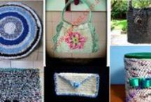 Reciclando en crochet / Ayuda a la naturaleza reciclando a través del tejido a crochet
